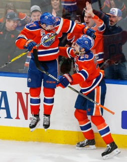 NHL: Anaheim Ducks at Edmonton Oilers